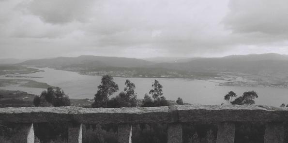 Vista del río Miño