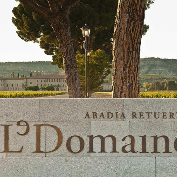 Entrada a las instalaciones de Le Domaine