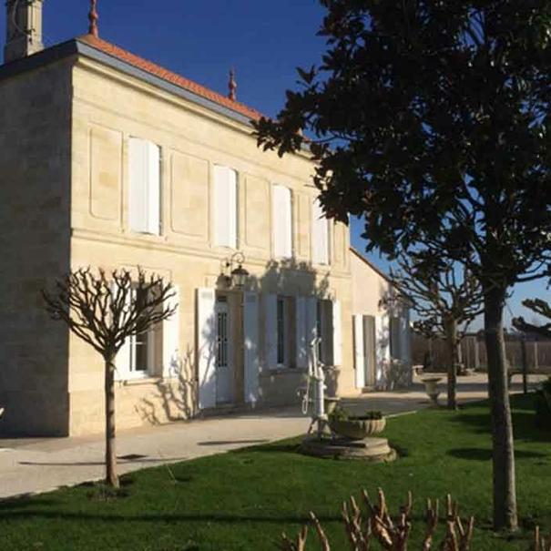Vista exterior del Château Lusseau